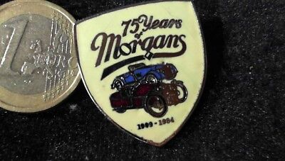 Morgans 75 Yeard Brosche Brooch kein Pin Badge
