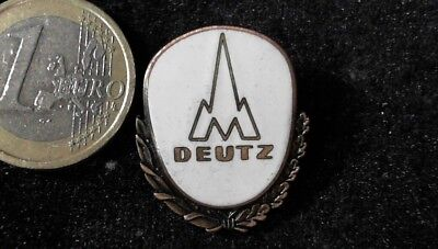 Deutz Brosche Brooch kein Pin Badge seltene Variante
