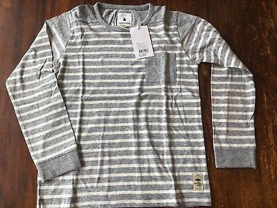 Country Road Stripe Long Sleeve T Size 8 BNWT #sundaymarket