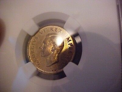 1947 South Africa Shilling NGC Proof PF 63