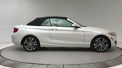 2018 BMW 2 Series 230i xDrive 230i xDrive 2 Series 2 dr Convertible Automatic Gasoline 2.0L 4 Cyl Mineral Whit