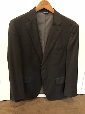 Banana Republic Mens 100% Wool Suit Size 40S Jacket And 32x30 Pants