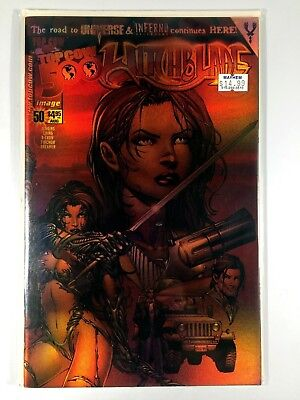 Top Cow WITCHBLADE (1995) #50 DF Dynamic Forces VARIANT Omnichrome NM Ships FREE