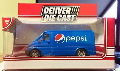 Pepsi Delivery Van ~ Die Cast Pepsi Delivery Toy Vehicle ~ Pepsi Toy Car