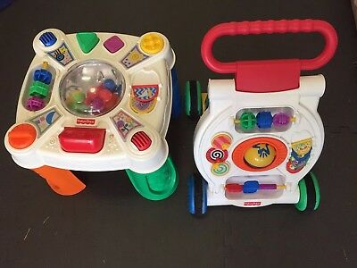 Fisher Price Walker And Activity Table