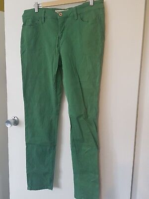 Country Road Apple Green Skinny Jeans Size 16