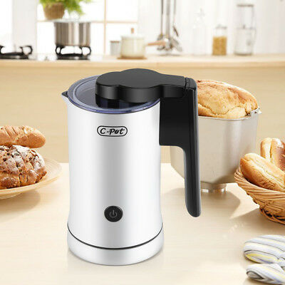 570W Auto Electric Hot Cold Milk Frother Heater for Coffee Cappuccino Latte AF