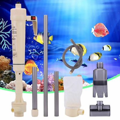 Siphon Aquarium Clean Vacuum Water Change Gravel Cleaner Fish Tank Pump Filter