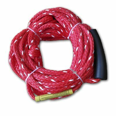 Inflatable Towable Ski Tow Rope, For Three Rider or 510 Pounds, Length 18.3meter