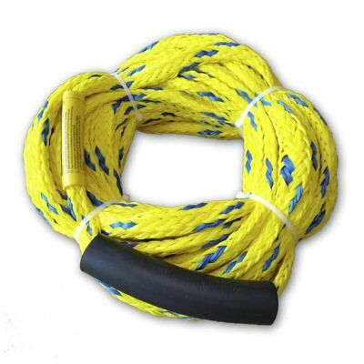 Inflatable Towable Ski Tow Rope, For Four Rider or 680 Pounds, Length 18.3meter