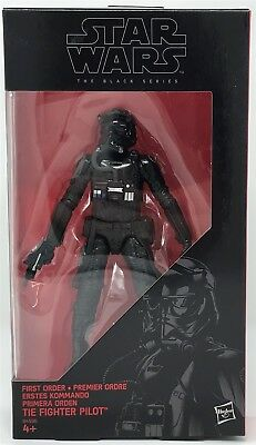 "Hasbro B4596 Star Wars Black Series #12 FIRST ORDER TIE FIGHTER PILOT 6"" Figure"