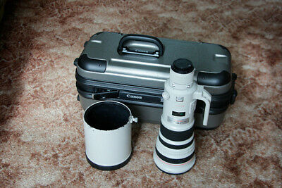 Canon 5004 IS L USM 500mm F4 Lens in Canon Hard Case