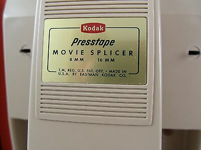 Vintage Kodak 50s-60s 8/16mm Film Splicer