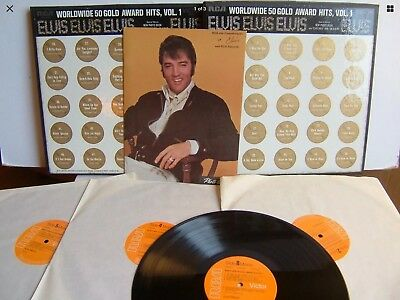 Elvis Presley - Worldwide 50 Gold Award Hits Vol.Box 1970 RCA.plus booklet
