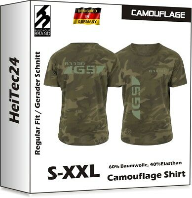 R1150GS Camouflage T-Shirt R 1150 GS f. BMW Motorrad Fans Military Look