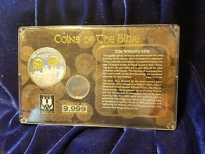 Coins of the Bible The Widow's Mite Bronze 100 BC American Mint LE