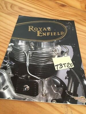 Royal Enfield 500 bullet brochure catalogue moto prospectus pub prospekt catalog