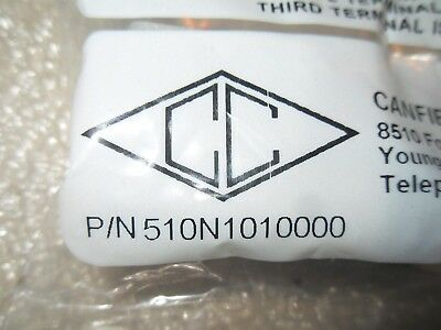 (V1-3) 1 Nib Canfield Connector 510N1010000 Solenoid Connector