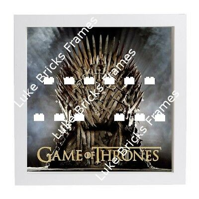 LEGO FRAME Game Of Thrones custom minifigure Display Case Picture + ...