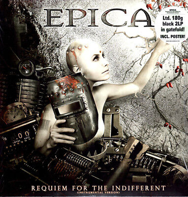 EPICA Requiem for the Indifferent (Instrumental Version) SEALED 2 LP BLACK VINYL
