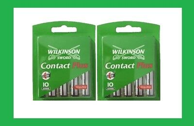 Wilkinson Sword Contact Plus Klingen 20 Stück 2x 10