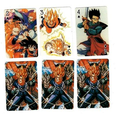 Brand New DBZ Dragon Ball Z Foil Cover Poker Playing Card Deck Rare OOP