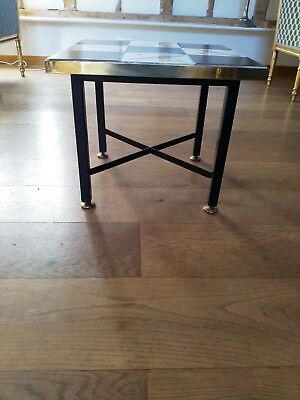 Original Swinging 60,s Tiled Coffee Table from 1963 Cocktail Bar Ivory and Green
