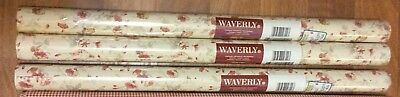 1 Waverly Double Roll Floral Wallpaper Prepasted 570923  3 double rolls availabl
