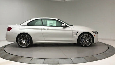 2018 BMW M4 Base Convertible 2-Door New 2 dr Convertible Manual Gasoline 3.0L STRAIGHT 6 Cyl Mineral White Metallic