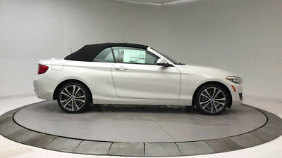 2018 BMW 2 Series 230i xDrive 230i xDrive 2 Series 2 dr Convertible Automatic Gasoline 2.0L 4 Cyl Alpine White
