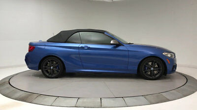 2017 BMW 2 Series M240i 2 Series M240i Convertible 2 dr Gasoline 3.0L STRAIGHT 6 Cyl Estoril Blue Metall