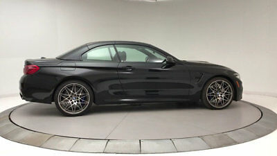 2018 BMW M4 Base Convertible 2-Door New 2 dr Convertible Manual Gasoline 3.0L STRAIGHT 6 Cyl Black Sapphire Metallic