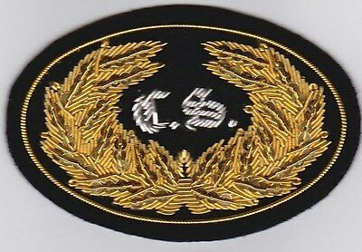 Civil War Slouch Hat Insignia - CS Reg. Officer Large w/ Free $20 Double Eagle