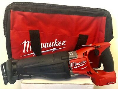 MILWAUKEE 2721-20 M18 FUEL Reciprocating Sawzall One Key + FREE MED TOOL BAG