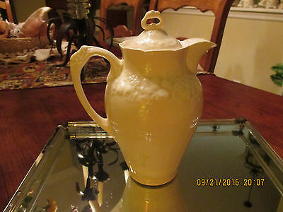 Crown Ducal ware Florentine England Chocolate Pot