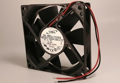 12(x) ADDA AD0812MS-A70GL 12V 0.15A 80mmx25mm, brushless fans