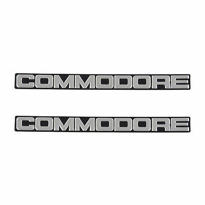 Front Bumper Bar Badge (Pair) for Holden Commodore VH