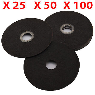 "Ultra Thin 25/50/100Pcs Metal Cutting Discs Stainless Steel 115mm 4.5"" Grinders"