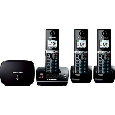 Triple Pack Dect Cordless Phone With Answering Machine And Repeater
