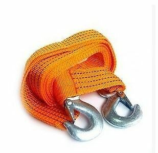 3M Tow Towing Pull Rope Strap Heavy Duty Road Recovery Car Van 4 TONNE 4T