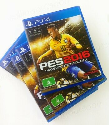Pro Evolution Soccer 2016 PS4 PES 16 *NEW disc *AUSSIE game *In Sydney *BE QUICK