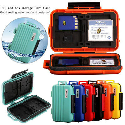 NEW 24 Slots Memory Card Storage Carry Case Box Protector Holder For CF SD MSD