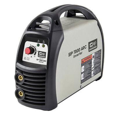 Sip T800 Arc Inverter Welder 05703 Multi-Functional, Scratch-Tig Start Function
