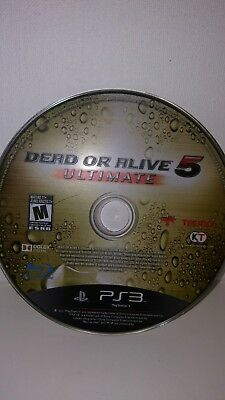 Dead or Alive (DOA) 5: Ultimate (Sony PlayStation 3, PS3): Disc only