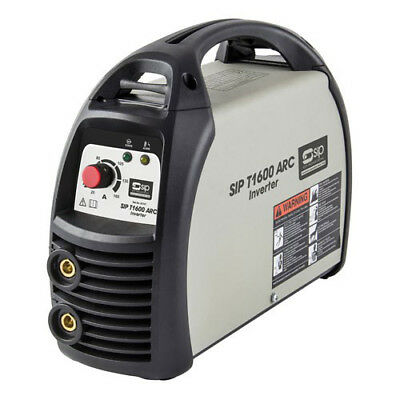 Sip T1600 Arc Inverter Welder 05707 Standard 230V (16Amp) Input Supply
