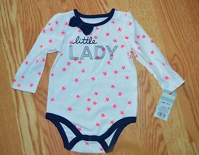NWT Cat & Jack one piece Little Lady bodysuit - size 6-9 Months