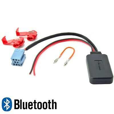 BLUETOOTH AUX ADAPTER für ALFA FIAT Ducato VW Becker Blaupunkt Visteon MP3
