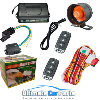 Remote Central Locking Car Alarm And Immobiliser , Anti Hijack,Boot Release UK