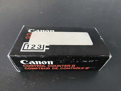 Canon Control Counter, Lot of 5