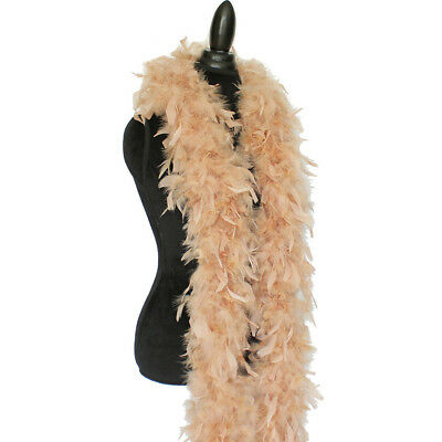 Camel 80 Grams Chandelle Feather Boa Dance Party Halloween Costume Dress Up